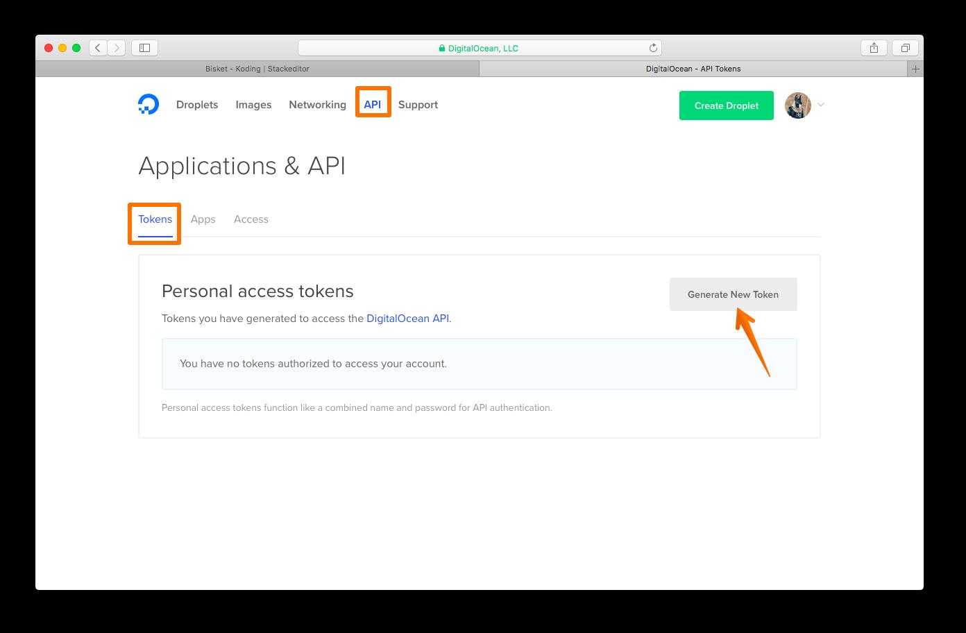 DO access token